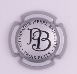Plaque de Muselet - Champagne Baillette Pierre (N°1)
