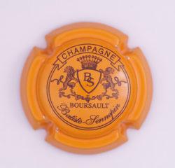 Plaque de Muselet - Champagne Batiste Sennepin (N°10)