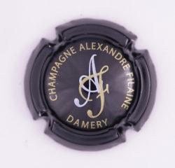 Plaque de Muselet - Champagne Filaine Alexandre (N°104)