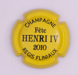 Plaque de Muselet - Champagne Fliniaux Régis (N°105)