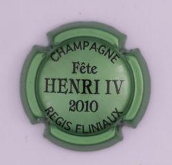 Plaque de Muselet - Champagne Fliniaux Régis (N°106)