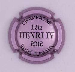 Plaque de Muselet - Champagne Fliniaux Régis (N°107)