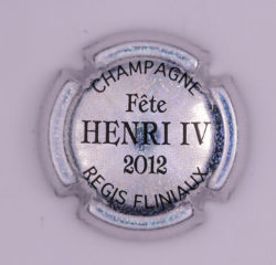 Plaque de Muselet - Champagne Fliniaux Régis (N°108)