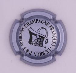 Plaque de Muselet - Champagne Franquet Lebrun (N°109)