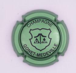 Plaque de Muselet - Champagne Gonet – Medeville (N°112)