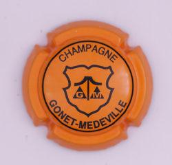 Plaque de Muselet - Champagne Gonet – Medeville (N°113)