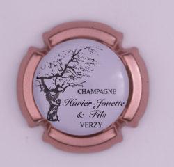 Plaque de Muselet - Champagne Huriet – Jouette & Fils (N°119)