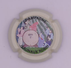 Plaque de Muselet - Champagne Jeaunaux Robin (N°121)