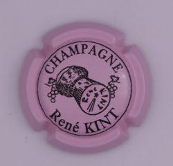 Plaque de Muselet - Champagne Kint René (N°123)