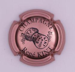 Plaque de Muselet - Champagne Kint René (N°124)