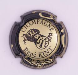Plaque de Muselet - Champagne Kint René (N°125)