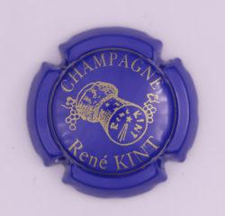 Plaque de Muselet - Champagne Kint René (N°126)