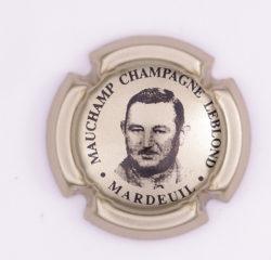 Plaque de Muselet - Champagne Leblond Mauchamp (N°127)