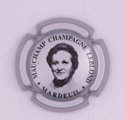 Plaque de Muselet - Champagne Leblond Mauchamp (N°128)