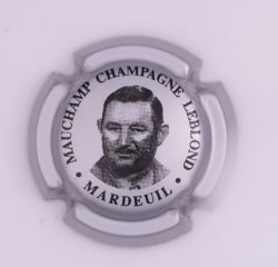 Plaque de Muselet - Champagne Leblond Mauchamp (N°129)