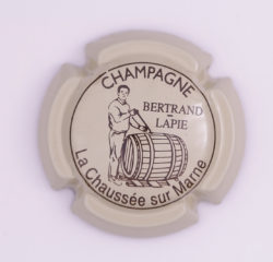 Plaque de Muselet - Champagne Bertrand Lapie (N°13)