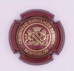 Plaque de Muselet - Champagne Lebrun Jean Claude (N°131)