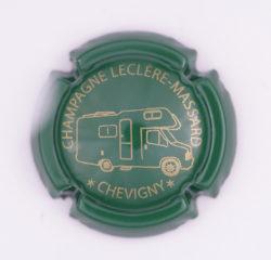 Plaque de Muselet - Champagne Leclere – Massard (N°132)
