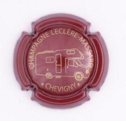 Plaque de Muselet - Champagne Leclere – Massard (N°133)