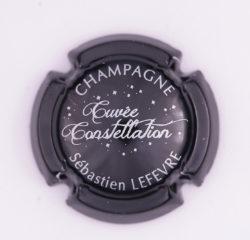 Plaque de Muselet - Champagne Lefevre Sébastien (N°134)
