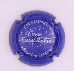 Plaque de Muselet - Champagne Lefevre Sébastien (N°135)