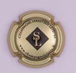 Plaque de Muselet - Champagne Lefevre Sébastien (N°136)