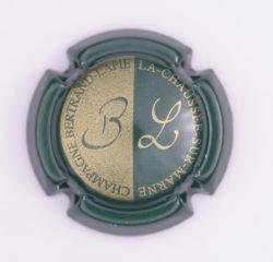 Plaque de Muselet - Champagne Bertrand Lapie (N°15)