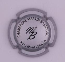 Plaque de Muselet - Champagne Martin Bastogne (N°155)