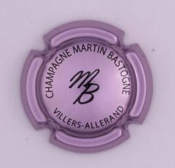 Plaque de Muselet - Champagne Martin Bastogne (N°156)