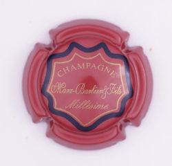 Plaque de Muselet - Champagne Marx – Barbier et Fils (N°157)