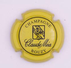 Plaque de Muselet - Champagne Mea Claude (N°159)