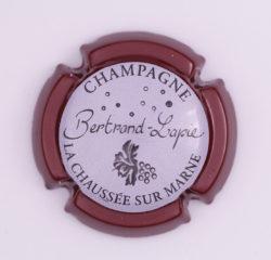 Plaque de Muselet - Champagne Bertrand Lapie (N°16)