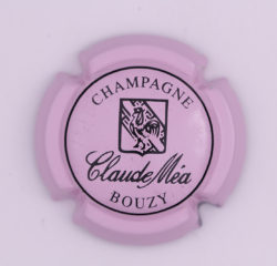 Plaque de Muselet - Champagne Mea Claude (N°160)
