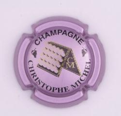 Plaque de Muselet - Champagne Michel Christophe (N°161)