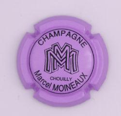 Plaque de Muselet - Champagne Moineaux Marcel (N°163)