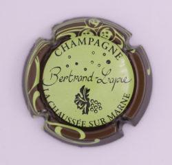 Plaque de Muselet - Champagne Bertrand Lapie (N°17)