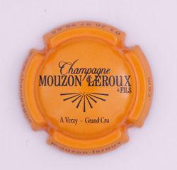 Plaque de Muselet - Champagne Mouzon Leroux & Fils (N°172)