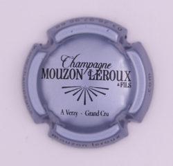 Plaque de Muselet - Champagne Mouzon Leroux & Fils (N°173)