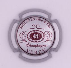 Plaque de Muselet - Champagne Mouzon Père et Fils (N°177)