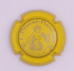 Plaque de Muselet - Champagne Pascal – Poudras (N°179)