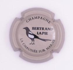 Plaque de Muselet - Champagne Bertrand Lapie (N°18)