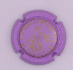 Plaque de Muselet - Champagne Pascal – Poudras (N°180)