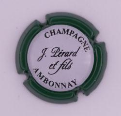 Plaque de Muselet - Champagne Pérard et Fils (N°182)