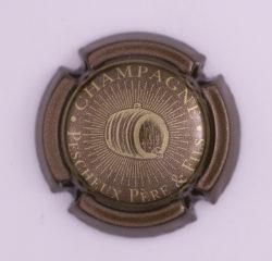 Plaque de Muselet - Champagne Pescheux Père & Fils (N°185)