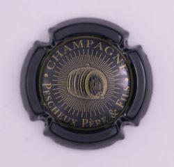 Plaque de Muselet - Champagne Pescheux Père & Fils (N°186)