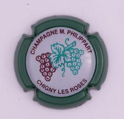 Plaque de Muselet - Champagne Philippart. M (N°189)
