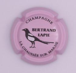 Plaque de Muselet - Champagne Bertrand Lapie (N°19)