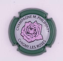 Plaque de Muselet - Champagne Philippart. M (N°190)
