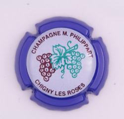 Plaque de Muselet - Champagne Phillipart. M (N°191)