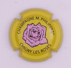 Plaque de Muselet - Champagne Philippart. M (N°192)